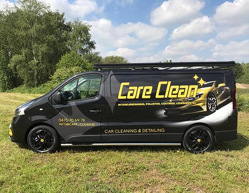 care clean bestelwagen